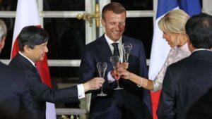 La visite du prince héritier Naruhito en France