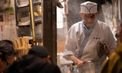 Un cuisinier japonais
