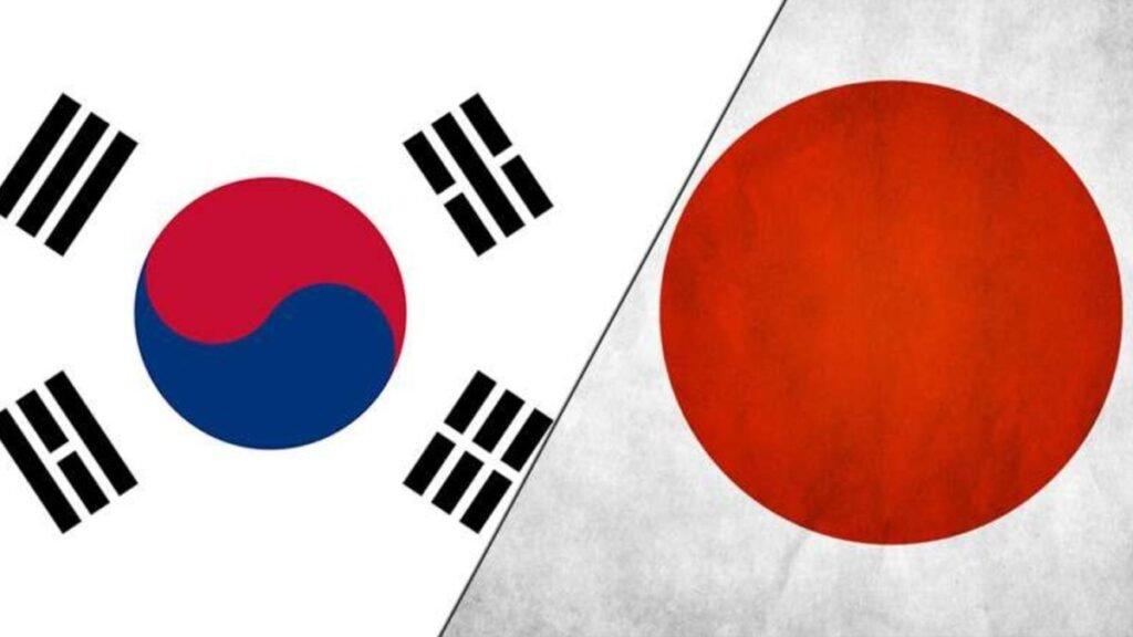 Coréd du Sud et Japon