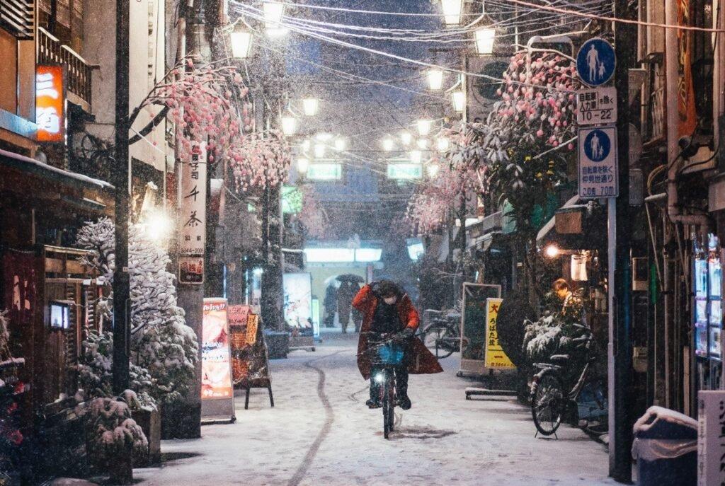 Japon rue de noel