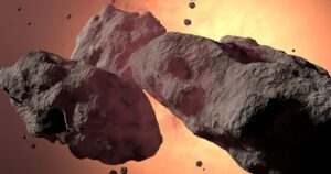 une asteroide