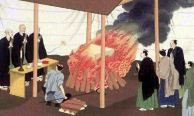 une cremation japon