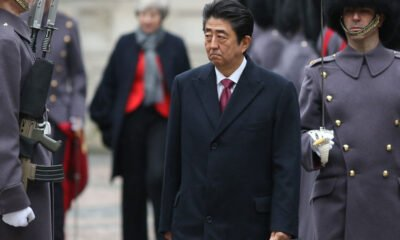 shinzo abe coree