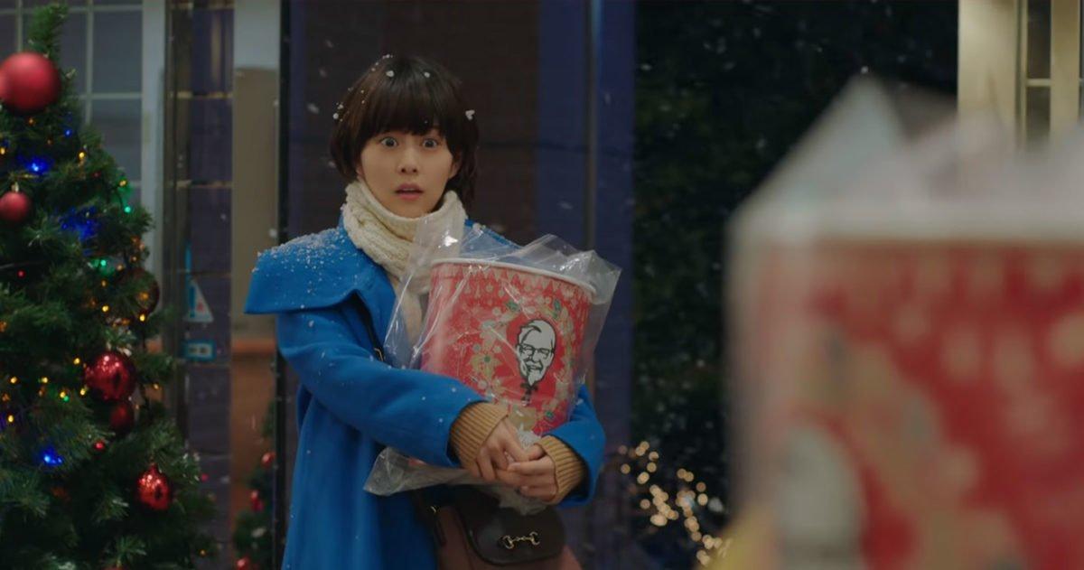 Campagne publicitaire de Noël au Japon, par KFC