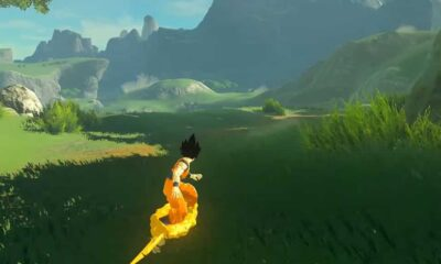 goku breath of the wild