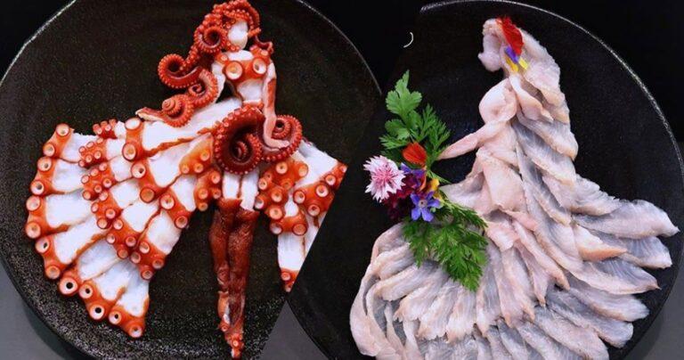 une sashimi artiste