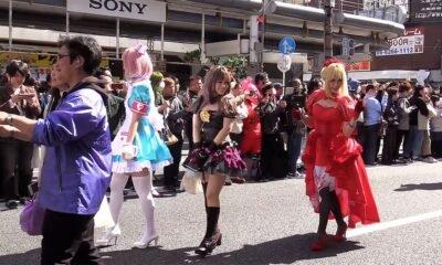 une cosplay japon