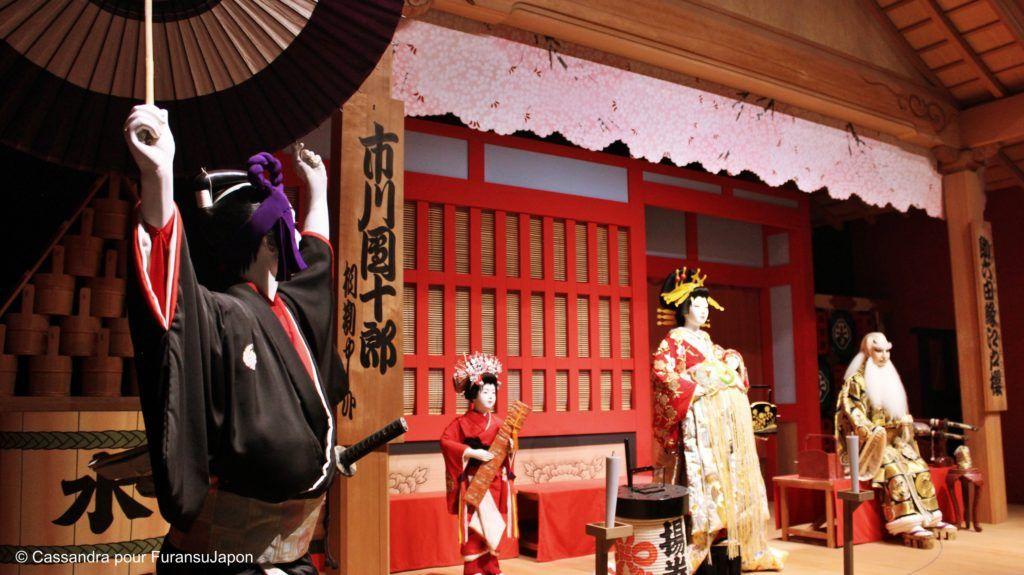 kabuki, Introduction au Kabuki, le théâtre traditionnel japonais, Furansu