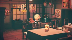 une animal crossing retro japon