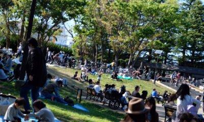 Parc au Japon