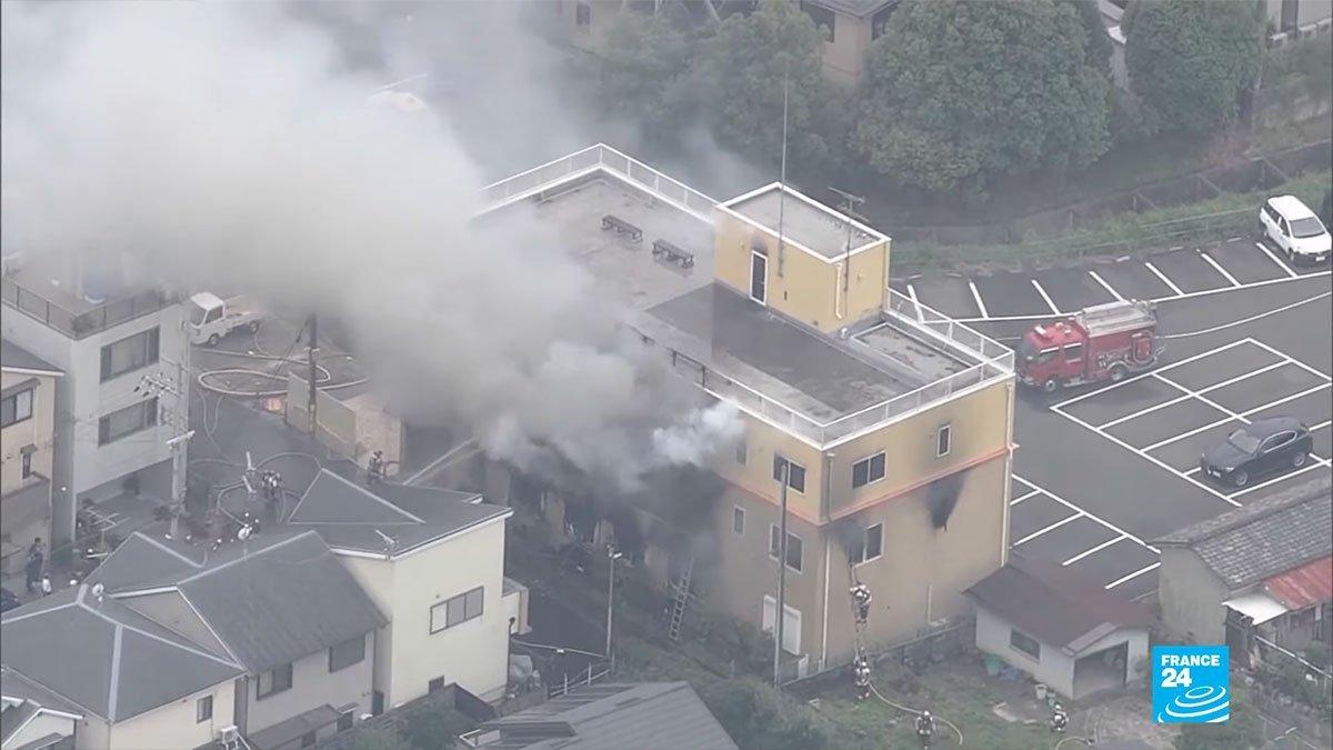 incendie kyoto