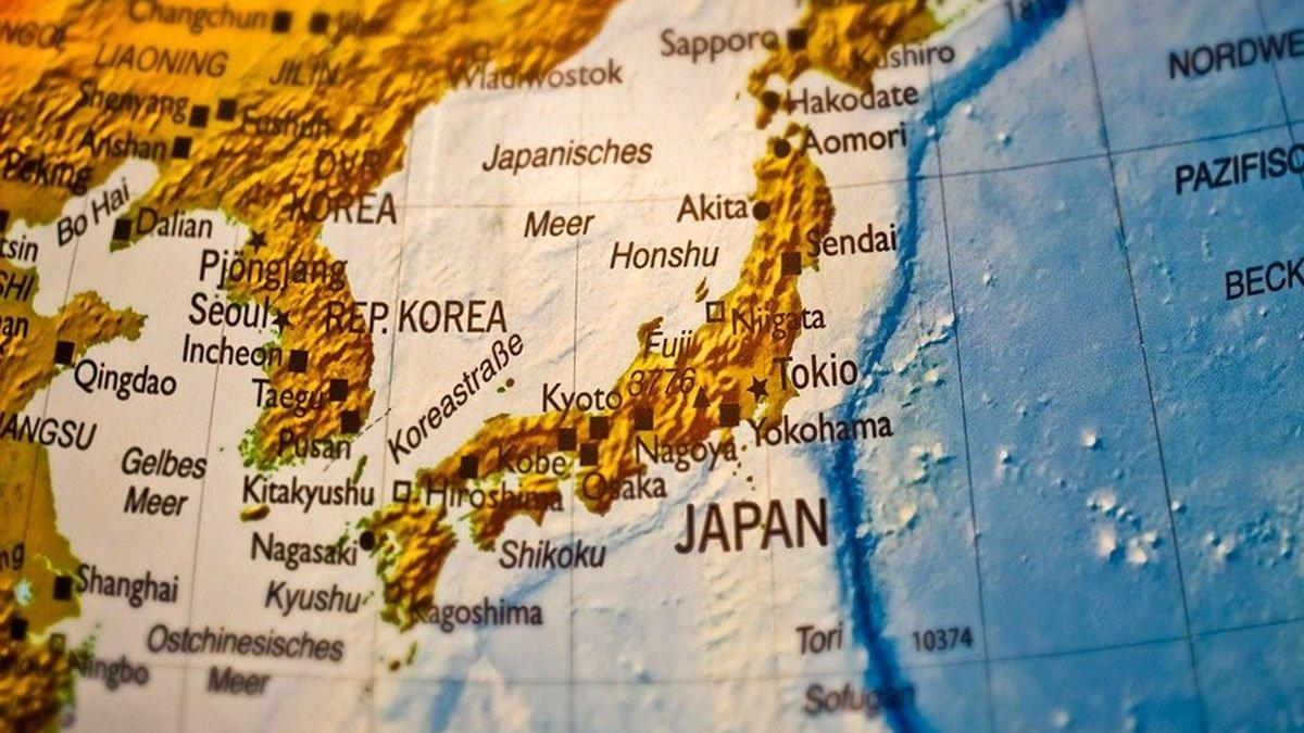 Japon carte
