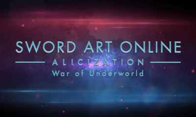Sword Art Online Alicization War of Underworld