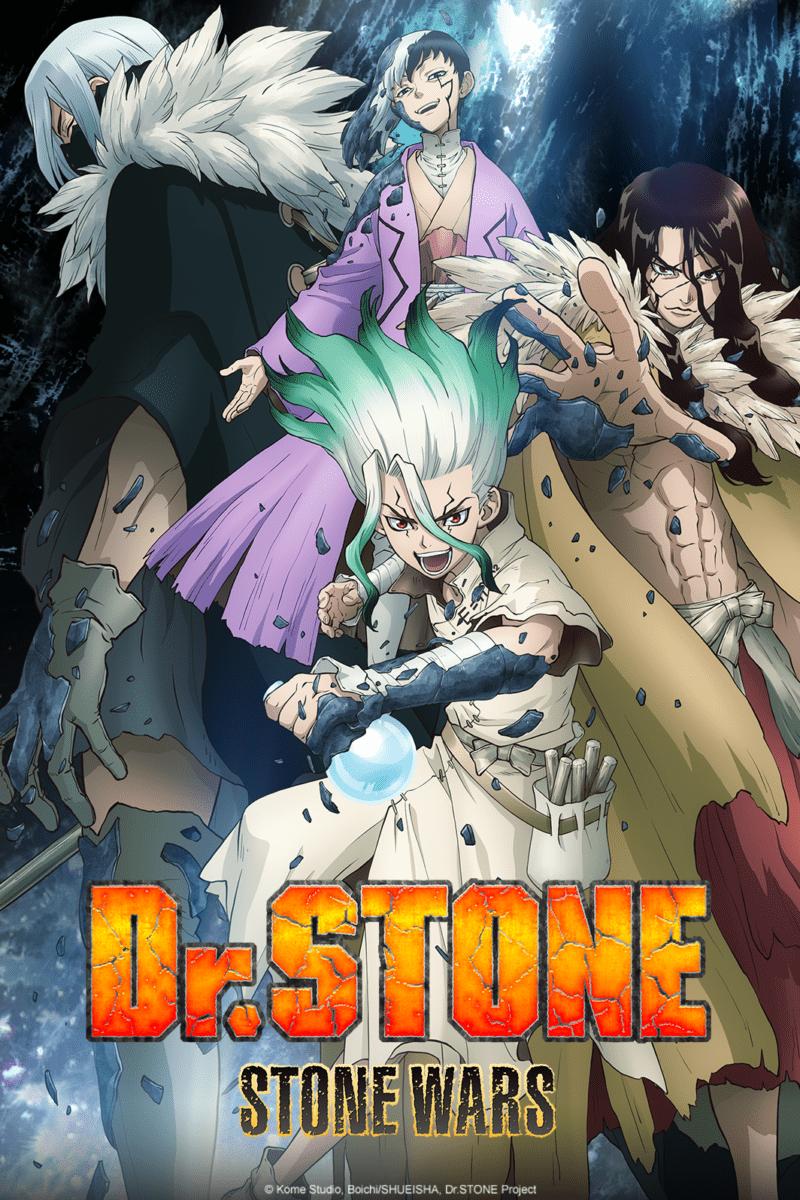 Dr Stone Saison 2 - Image de promotion