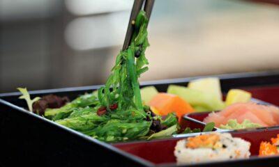 Repas Japonais dans un bento