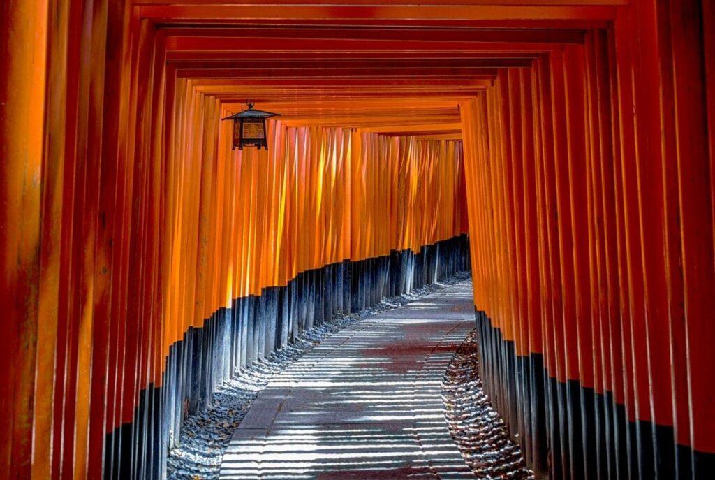 Le sanctuaire shinto Fushimi Inari (Kyoto)