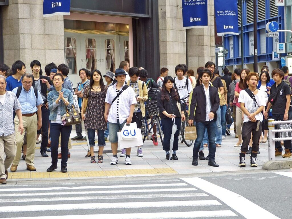 tokyo personnes