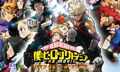 My Hero Academia Heroes Rising / L'OST