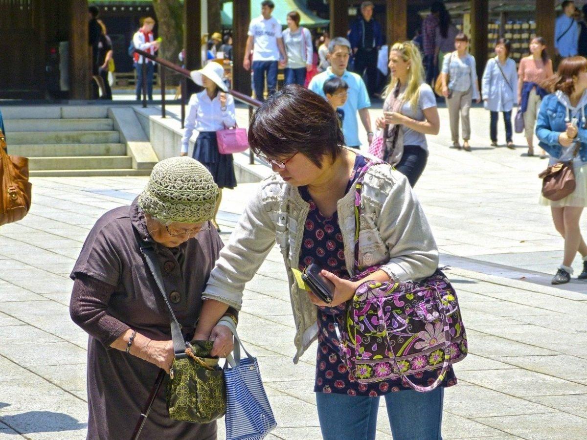 , Au Japon, le taux de longévité atteint un niveau record, Furansu