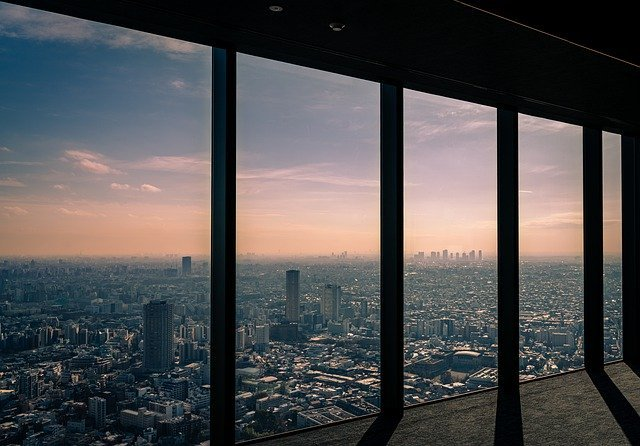 Tokyo, depuis un building