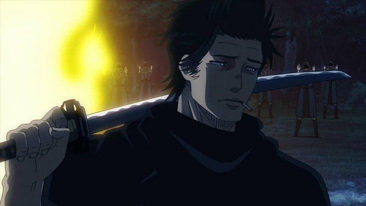 Yami, capitaine et personnage de l'anime Black Clover