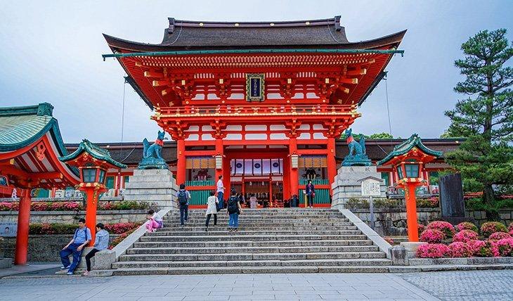 Temple à Kyoto / Une des raisons pour aller au Japon