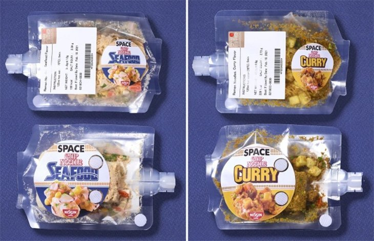 Ramen pour l'espace saveur curry