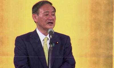 Suga, Premier ministre du Japon