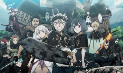 Tous les personnages principaux de l'anime Black Clover