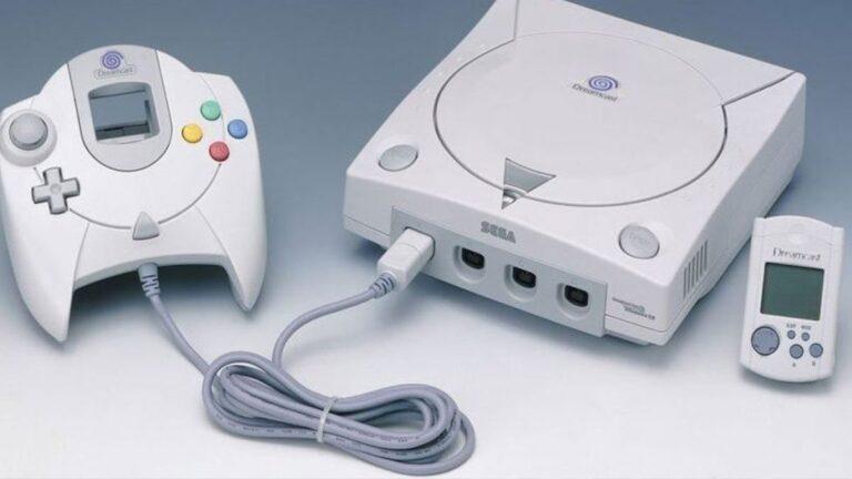 une dreamcast console