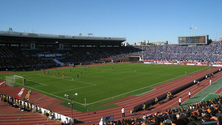 une foot stade japon