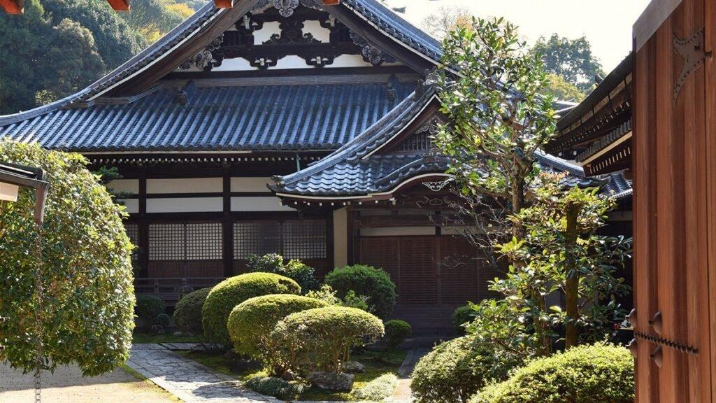 une temple japonais