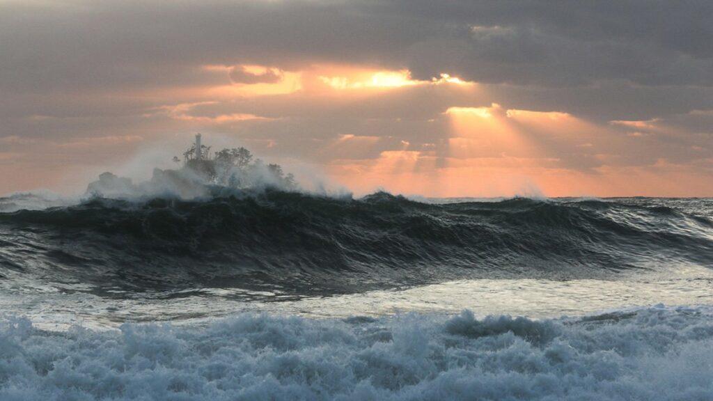une typhon haishen
