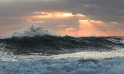 Typhon en mer