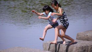 Deux jeunes japonais