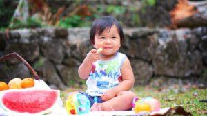 Jeune enfant japonais
