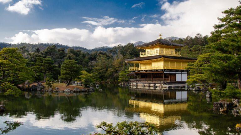 Kinkaku au Japon