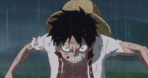 One Piece Luffy en colere