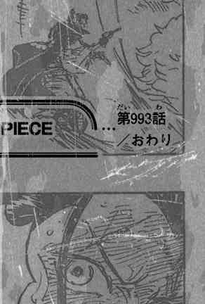 One piece raw