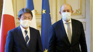 ministre japon france