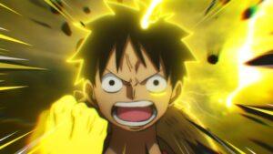 Luffy en Gear 5 dans One Piece