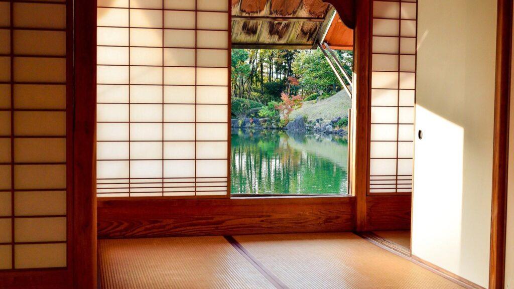 Maison japonaise interieur