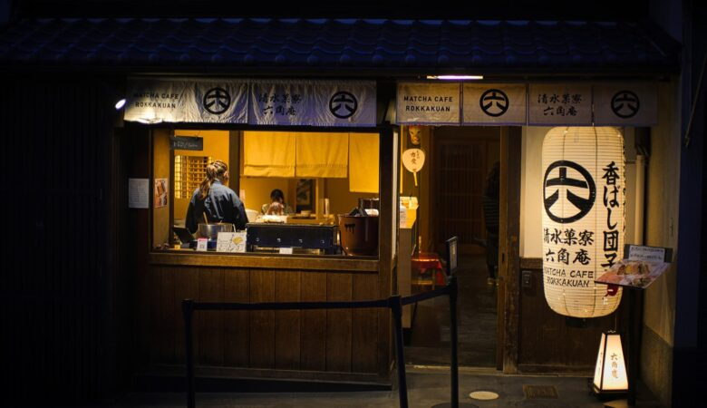 Restaurant traditionnel japonais