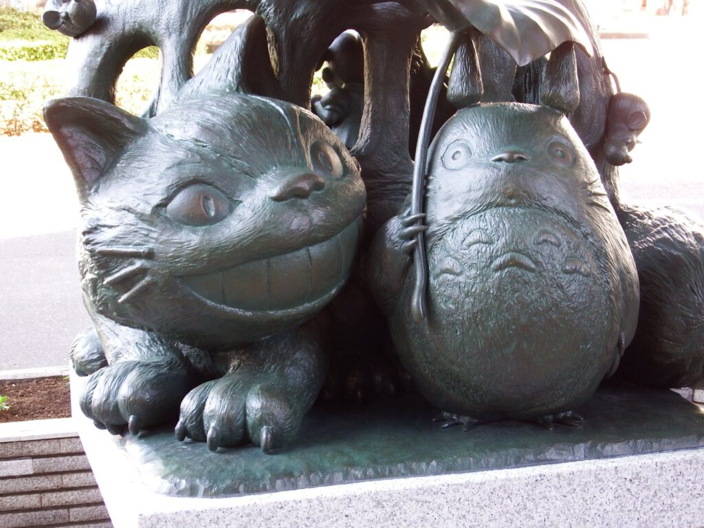 Statue de Totoro