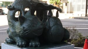 Totoro Statue Japon