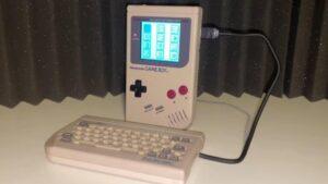 WorkBoy sur Game Boy