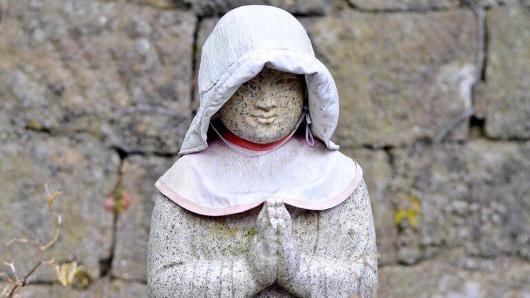 Statue au Japon
