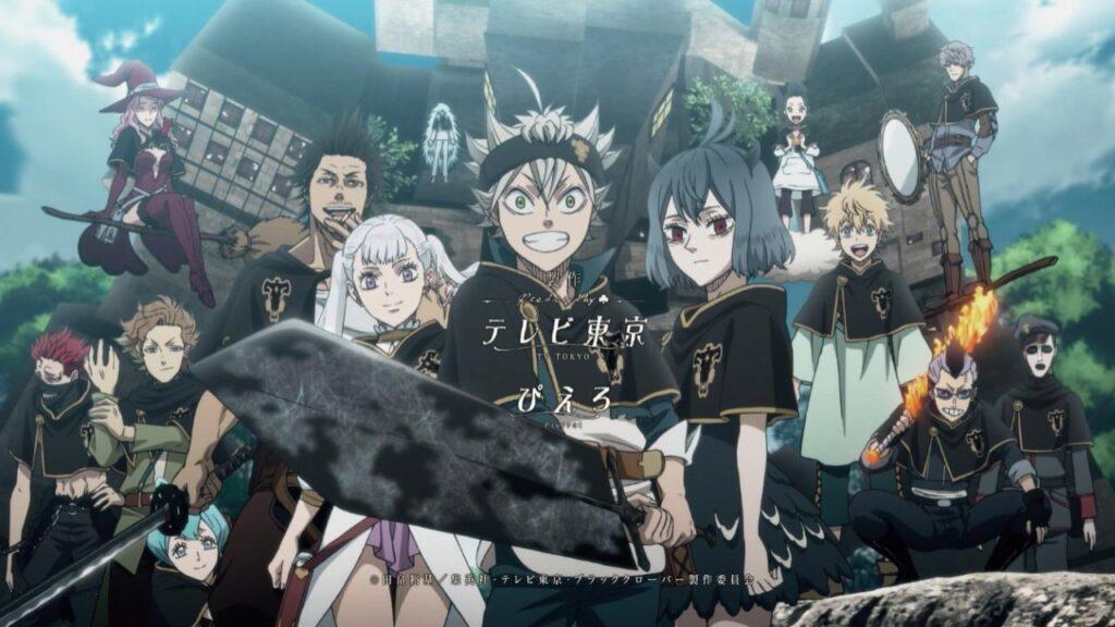 Black Clover suite de l'anime