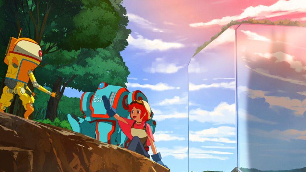 Eden Anime Netflix Affiche