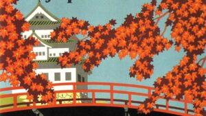 Japon affiche de voyage